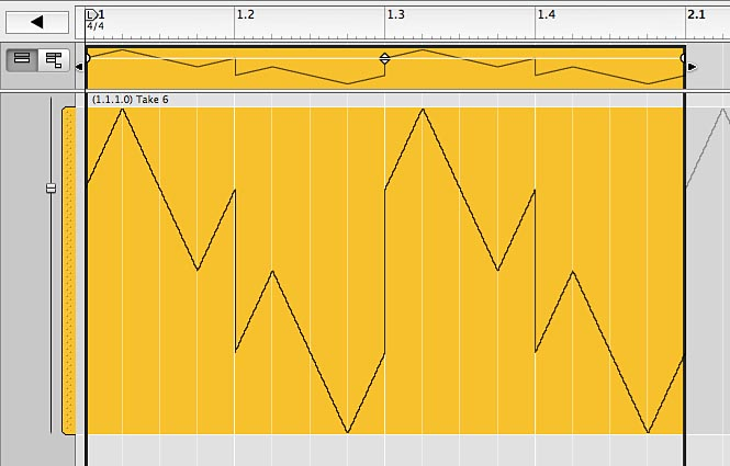 SUmmed LFO waveforms